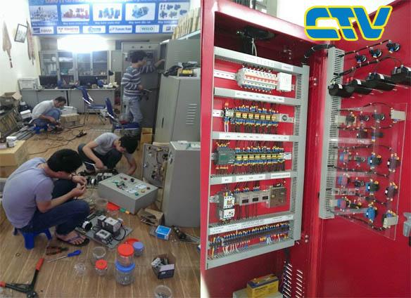 Thiết kế hệ thống tủ điện