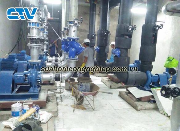 Bảo dưỡng máy bơm công nghiệp tại Cường Thịnh Vương