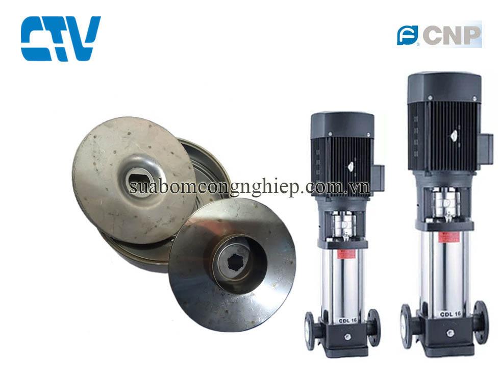Cánh bơm nước, cánh bơm trục đứng CNP model CDL 4-5, 1,1kw