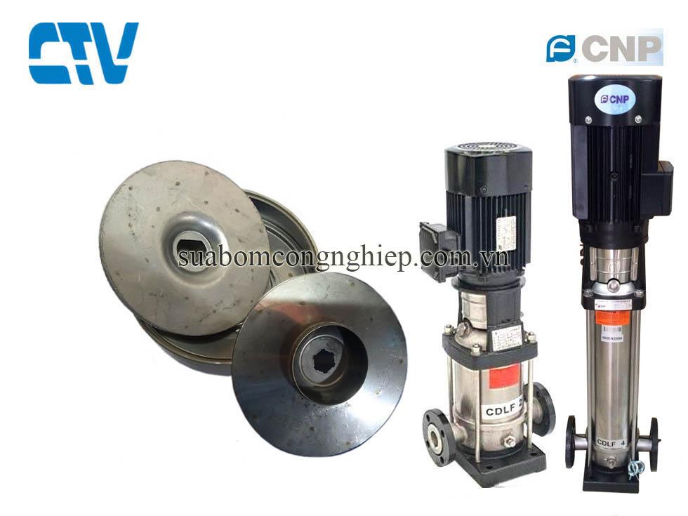 Cánh bơm nước, cánh bơm trục đứng CNP model CDLF 4-19, 4kw