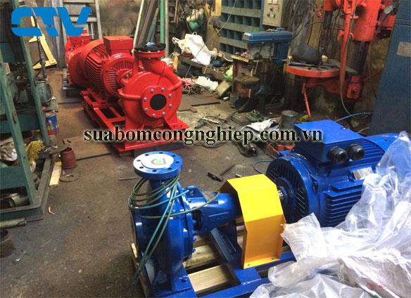 Cho thuê máy bơm công nghiệp giá tốt nhất tại Hà Nội