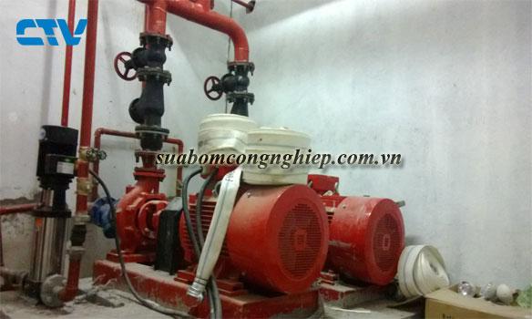 Dịch vụ lắp đặt hệ thống máy bơm PCCC chuyên nghiệp, giá tốt tại Hà Nội