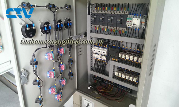 Dịch vụ thiết kế tủ điện hệ thống bơm cấp nước uy tín tại Hà Nội