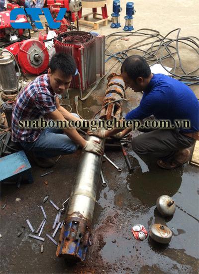 Giới thiệu dịch vụ sửa máy bơm giếng khoan uy tín, giá tốt tại Hà Nội
