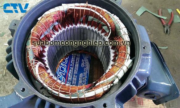 Quấn động cơ máy bơm công nghiệp ở đâu tốt nhất tại Hà Nội