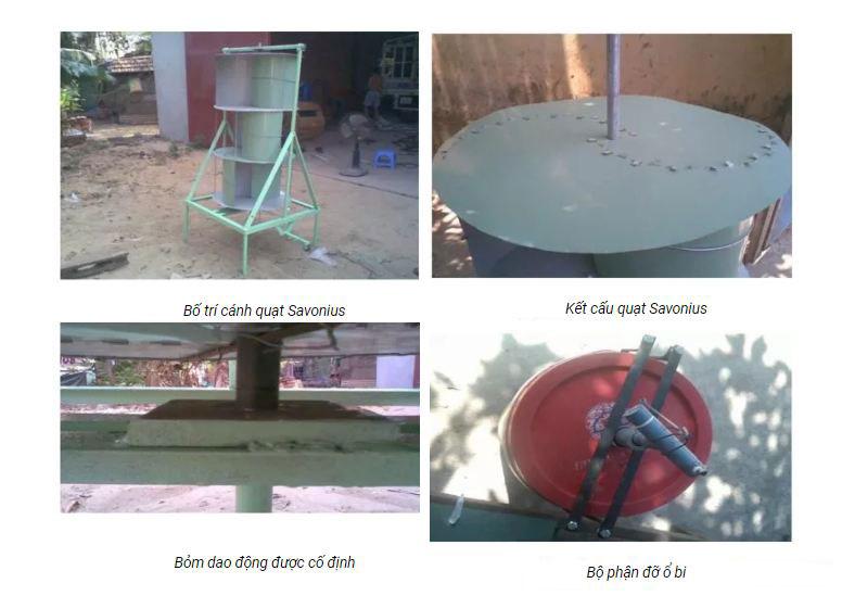 Ý tưởng chế tạo máy bơm nước sử dụng năng lượng gió cho nhà cao tầng
