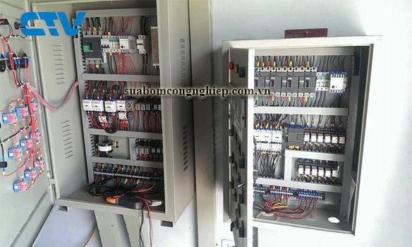 Nhận thiết kế tủ điện cho hệ thống máy bơm nước