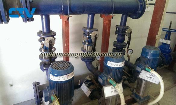 Những chú ý khi xây dựng trạm bơm cấp nước
