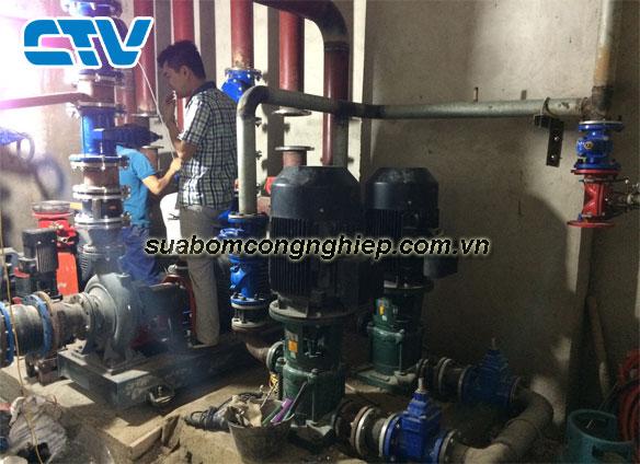 Quy trình bảo dưỡng máy bơm công nghiệp thông thường