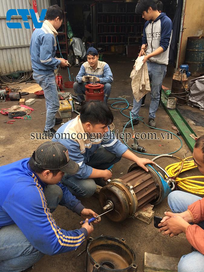 Bảo trì, bảo dưỡng, sửa chữa máy bơm chìm nước thải Pentax uy tín, chuyên nghiệp
