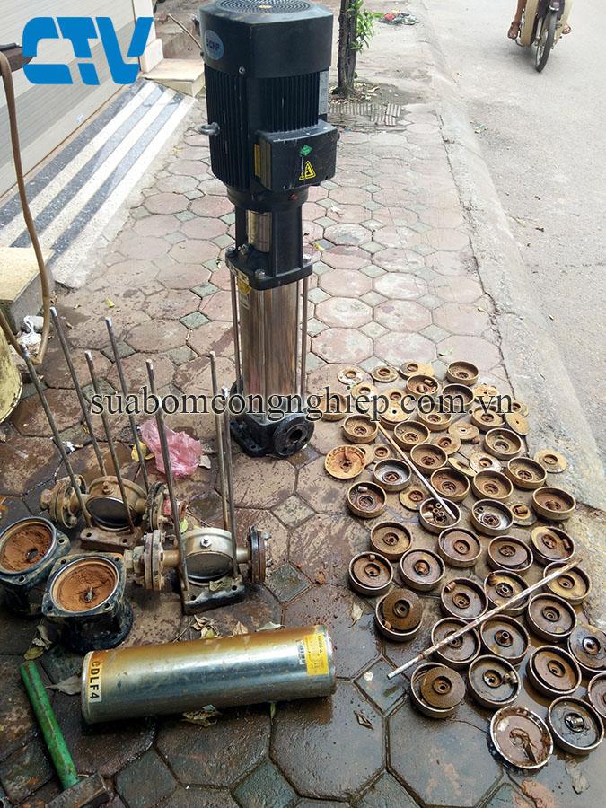 Sửa chữa, bảo dưỡng máy bơm trục đứng CNP uy tín chất lượng tại Miền Bắc