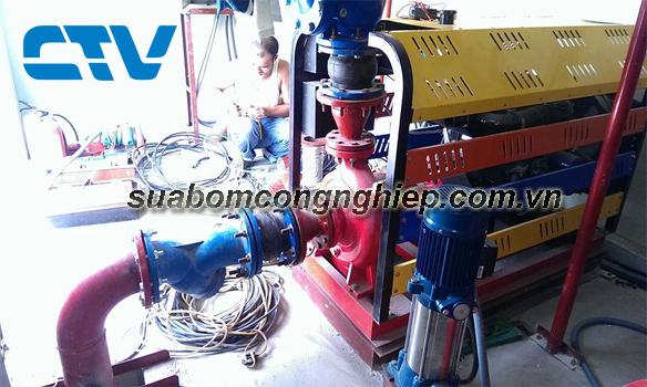 Sửa máy bơm chữa cháy Diesel