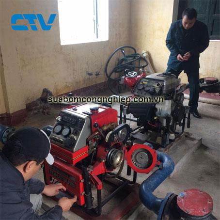 Địa chỉ sửa máy bơm cứu hỏa Tohatsu tin cậy, uy tín tại Hà Nội