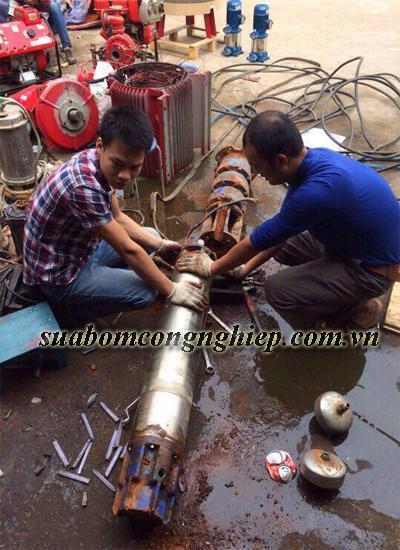 Nơi sửa máy bơm giếng khoan nhanh chóng, chất lượng tốt tại Hà Nội