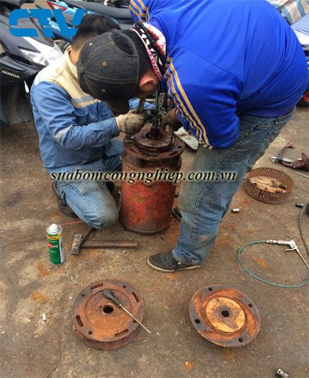 Sửa máy bơm nước chuyên nghiệp tại Hà Nội