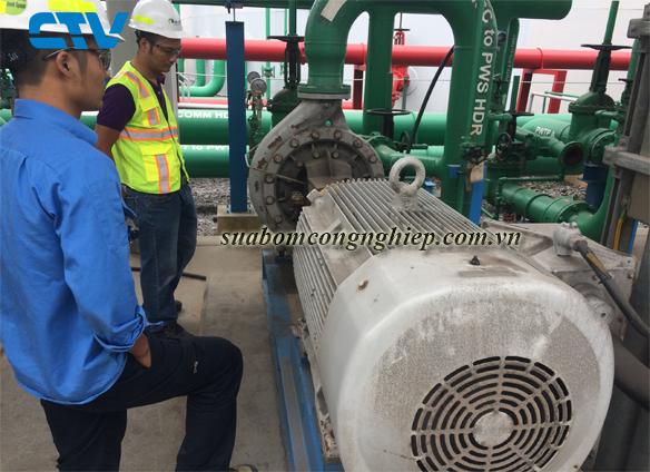 Sửa máy bơm nước công nghiệp và dân dụng tại Hà Nội