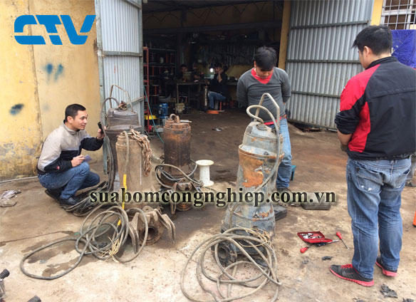 Sửa máy bơm nước thải Pentax chuyên nghiệp tại Hà Nội