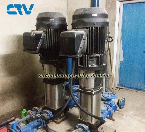 Sửa máy bơm trục đứng nhanh, uy tín, giá tốt tại Hà Nội