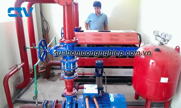 Thi công lắp đặt hệ thống máy bơm PCCC cho các khách hàng trên cả nước