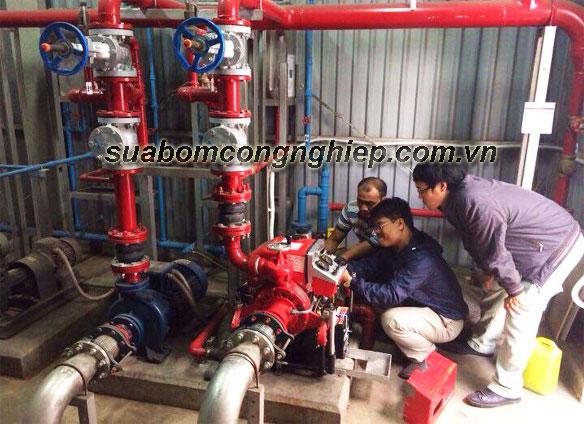 lắp đặt hệ thống máy bơm cấp nước phòng cháy chữa cháy chuyên nghiệp, nhanh chóng với ctv