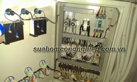 thiết kế tủ điện hệ thống bảo vệ máy bơm